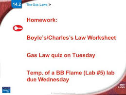 gas laws worksheet boyles law and charles law ppt video online