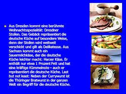 deutsche k che dresden die deutsche küche ist so vielseitig ppt herunterladen