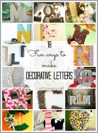 letters for home decor decor decorated cardboard letters decor color ideas wonderful