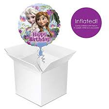 inflated helium balloons delivered ready inflated helium frozen balloon delivered in a box and