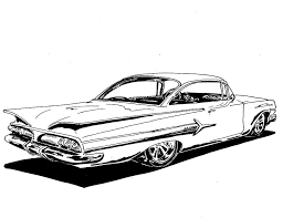 coloring pages of lowrider cars lowrider cars impala drawings images pictures becuo hanslodge