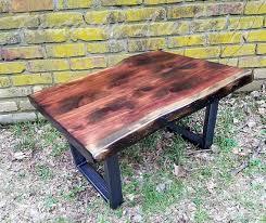 Industrial Rustic Coffee Table Rustic Coffee Table Industrial Coffee Table Live Edge Coffee
