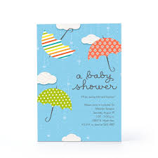 color baby shower greeting cards