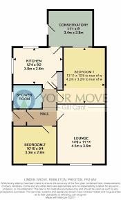 2 bedroom semi detached bungalow for sale linden grove preston