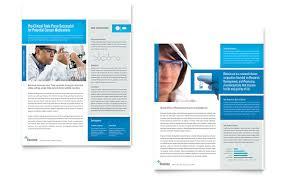 science u0026 chemistry brochure template word u0026 publisher