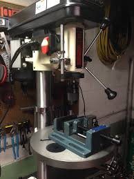 best drill press table i finally bought a drill press the shop fox w1668 and my immediate