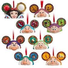 your wdw store disney ornament ears set snow white
