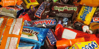 halloween chocolate background the most horrifying things found in halloween candy