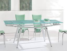 furniture stunning modern glass dining room table modern dining