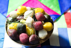 traditional korean of bountiful harvest chuseok