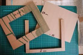 scrapbooking tutorial cornice cornice fai da te con il cartone riciclato il tutorial tutorial 8