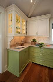 green base cabinets in kitchen kitchen cabinets maybe not green on the bottom but like