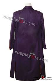 halloween costumes joker dark knight batman dark knight joker purple long trench coat halloween costume