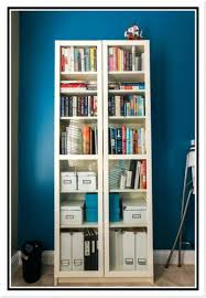 Bookshelf Glass Doors Bookcase Ikea Billy Bookcase With Glass Doors Uk Ikea Billy