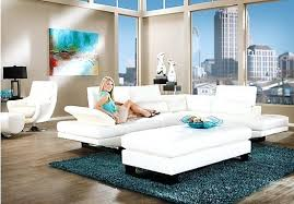 White Leather Living Room Set Living Room Handmadeaccessories Top