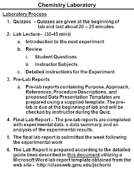 lab report template microsoft word genchem organic chemistry laboratory ppt download