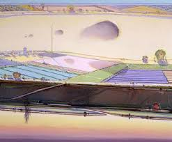 Wayne Thiebaud Landscapes by Art U0026 Artists Wayne Thiebaud Landscapes Wayne Thiebaud