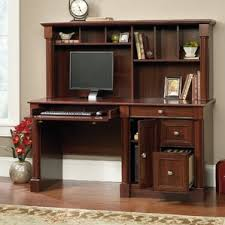 computer desk with hutch style donchilei com