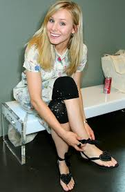 Kristen Bell by Kristen Bell U2013 Celebrity Foot And Shoes