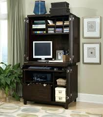 Oak Computer Desk With Hutch by Desk 12 Home Office Desk Armoire Home Office Desks Solid Wood