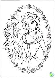 disney princess christmas coloring pages getcoloringpages