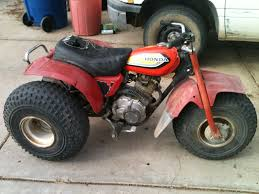 new to 3 wheelers could use some help on my 1982 honda 185s