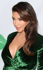 kim kardashian at the midori makeover parlour event in santa