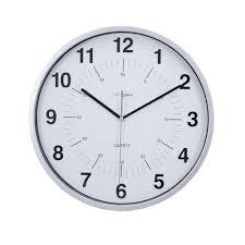 kiera grace 6 pack synchro silent wall clock 12 in 3 4 in d