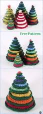 crochet christmas tree free patterns for holiday decoration
