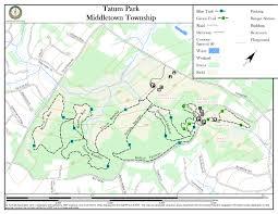 Garden State Parkway Map Tatum Park New Jersey Trails Association