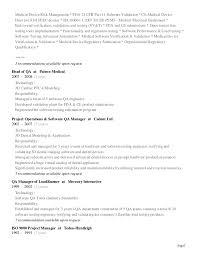 software qa manager resume sample download regulatory test engineer sample resume