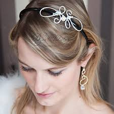 bijoux tete mariage accessoire coiffure mariage cheveux courts bijoux volutes mariage