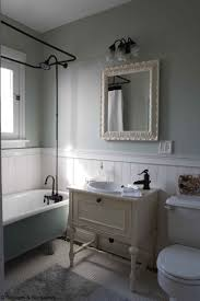 design for bathroom with wainscoting ideas 11963 stunning blue bathroom with wainscoting