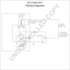 m125r2634se starter motor product details prestolite leece