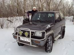 daihatsu rocky offroad дайхатсу роки 1994 привет всем любителям автомобилей ангарск 4