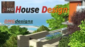 the sims 3 bella vista modern house no c c youtube