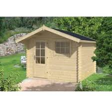 Summer House For Small Garden - gitte log cabin the gitte log cabin with a small front canopy