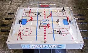 bubble hockey table reviews shelti slapshot hockey table groupon goods