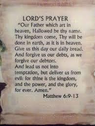 the lord u0027s prayer matthew 6 9 13 new international version niv