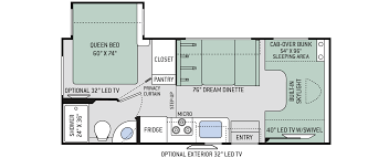 rv class c floor plans floor plans quantum gr22