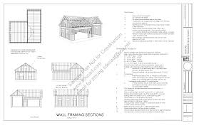 Detached Garage Floor Plans by Free Garage Plans Sds Plans Part 2