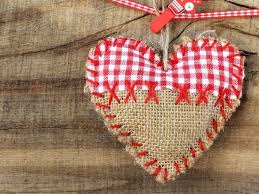 Fabric Heart Decorations 686 Best Christmas Heart Ornaments Images On Pinterest Heart