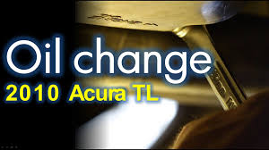 acura tl sh awd oil change and filter replacement youtube