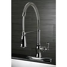 kitchen faucets american classic modern chrome spiral pull kitchen faucet