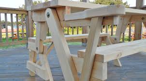 Plans To Build A Picnic Table Bench by This All In One Picnic Table And Bench Is Diy At It U0027s Finest Diy Joy