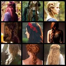 viking anglo saxon hairstyles medieval women hairstyle beautiful medieval inspired hairstyles