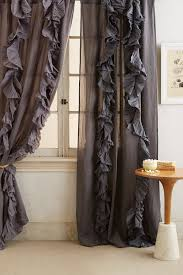Curtains With Ruffles Wandering Pleats Curtain Anthropologie