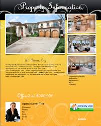 real estate flyer templates for mac users