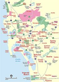 map of cities in california san diego county cities san diego california