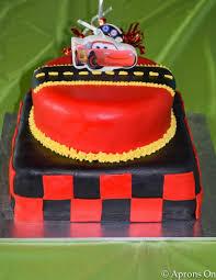disney cars birthday party u2014 aprons on
